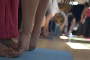 Trinity Yoga student class